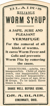 vintage medicine label Stock Photo - 14915926