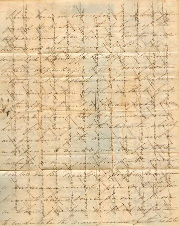 antique letter 版權商用圖片