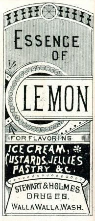 label frame: vintage medicine label Stock Photo