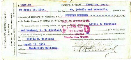 vintage real estate document photo