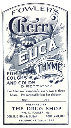 Vintage Label For Medicine Stock Photo Picture And Royalty Free