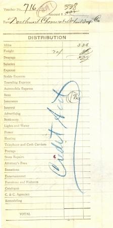 vintage order form photo