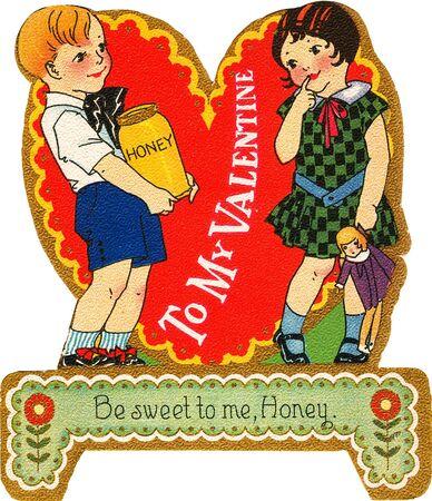 honey blonde: A boy dressed as a cowboy holding a heart