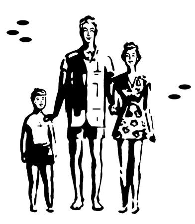 A family vacation photo