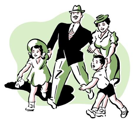 A family vacation Stock Photo - 14918160