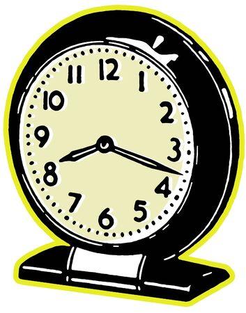 A vintage clock Stok Fotoğraf