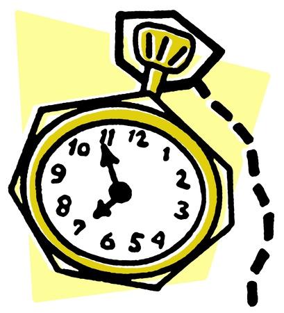 fob: A vintage fob watch