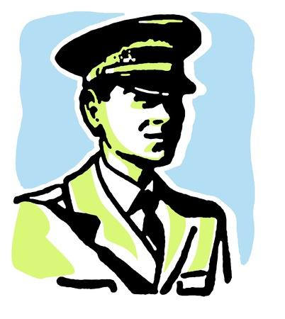 aviators: A vintage style portrait