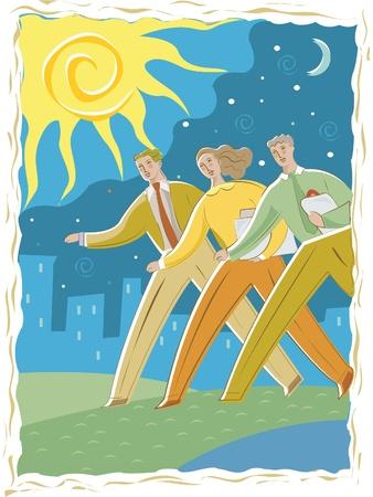 imagezoo: Business people walking