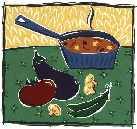 Suppe ist auf Standard-Bild - 15209486