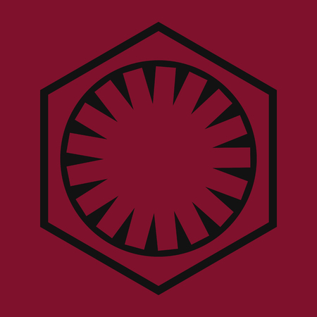 episode: Symbol from Sci-Fi Comics Book About Wars Illustration