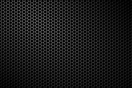 Black metal speaker mesh