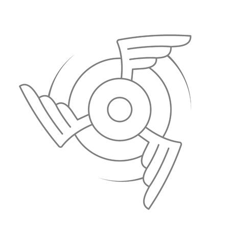 Aviation emblem, badge or logo