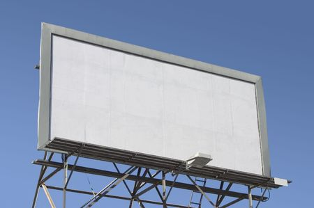 Fill in this blank billboard with your own message.