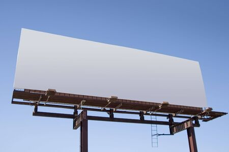 Fill in this blank billboard with your own message. Stock Photo - 311170