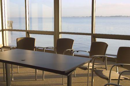 organise: Una sala de conferencias con un punto de vista.