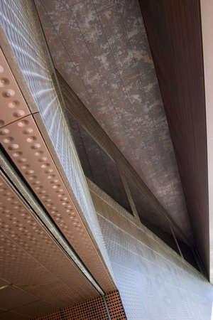 El ángulo exterior de un museo de arte en San Francisco. Foto de archivo - 404649