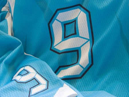football jersey: number nine uniform