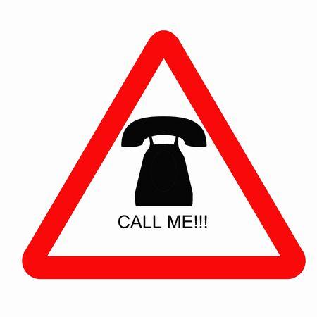 call me: call me sign