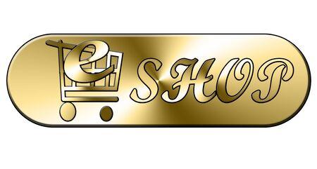 web shop button Stock Photo - 3581878
