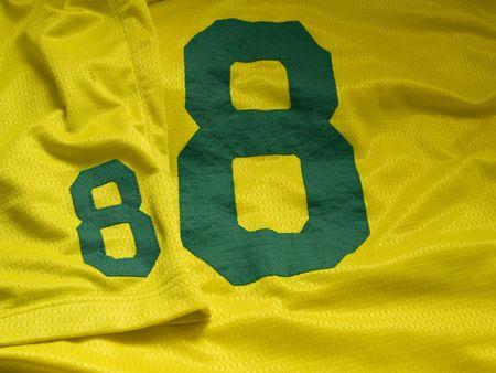 number eight uniform Stock Photo