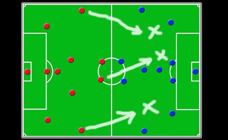 offside: soccer coach board