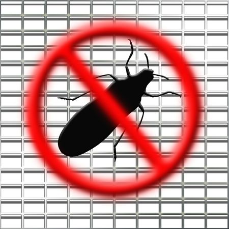 crawly: illustration of the stop bugs net
