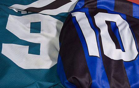 photo of different team uniforms nine ten