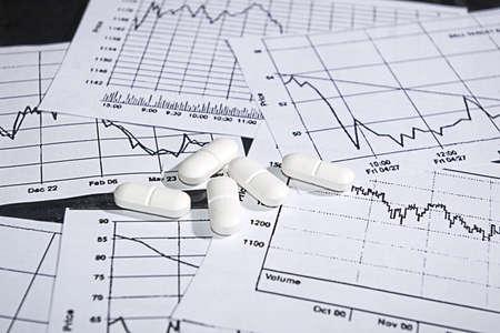 photo of the nervous trading on stock market exchange Stock Photo - 6300636