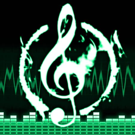 music equalizer photo