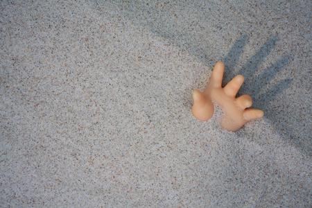 dooll hand in ruins pleasure help for world
