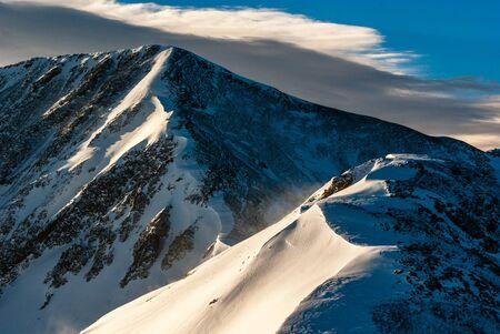 denver at sunrise: Grizzly Peak, Colorado
