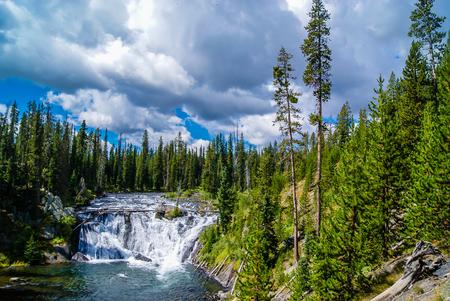 Moose Falls, Yellowstone National Park