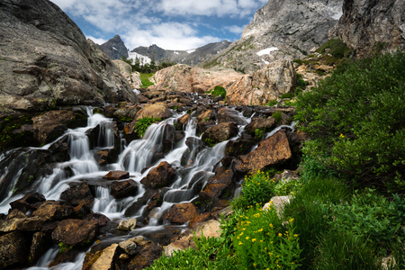 recreation area: Near Lake Isabelle, near Brainard Lake Recreation Area.  Ward, Colorado.