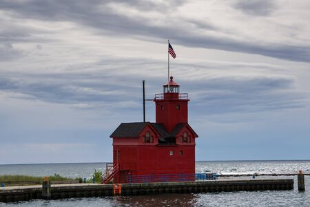 holland: Holland State Park, Holland Michigan Stock Photo