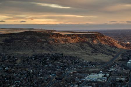 Golden, Colorado.  North Table Mountain.