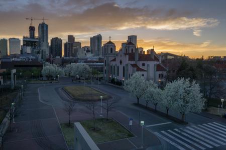 denver buildings: On the campus of Metropolitan State Unviersity of Denver.