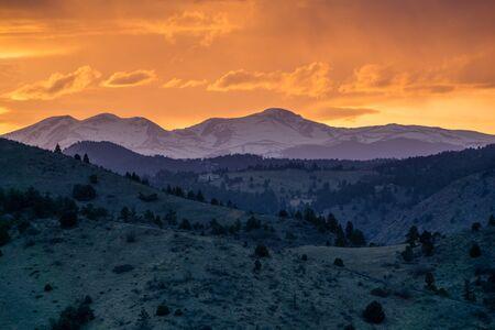 morrison: From Mount Falcon Park, in Morrison Colorado.