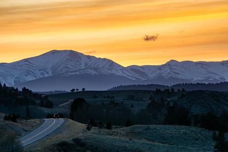 Near the Southwest entrance to the Lost Creek Wilderness, near Jefferson, Colorado. Stock Photo
