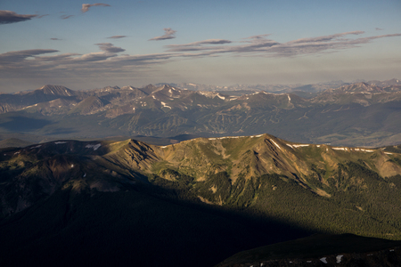 From the summit of Grays Peak.
