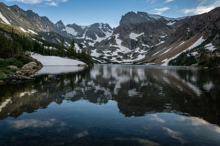 ブレナード湖レクリエーションエリア、ウォード、コロラド州。 写真素材