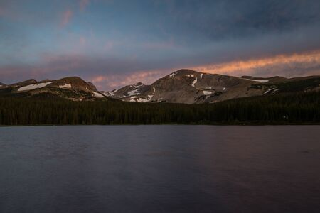 Brainard Lake Recreation Area, Ward, Colorado. Stock Photo