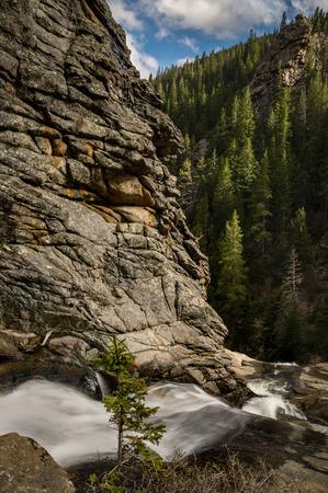 Above Bridal Veil Falls, near Estes Park, Colorado.