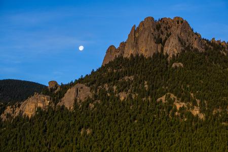 Wellington Lake Campground.  Near Bailey, Colorado.