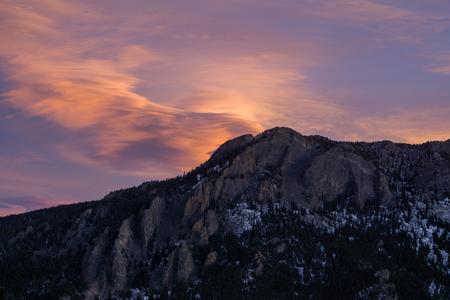 Rocky Mountain National Park.  Estes Park, Colorado.