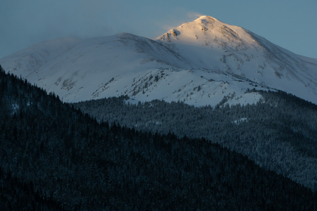 Sunrise near Loveland Pass, Colorado