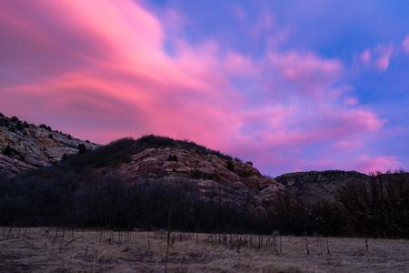 Hiking and biking trails near Ken Caryl, Colorado.