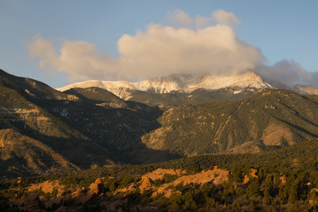 From The Garden of the Gods, Colorado Springs, Colorado.