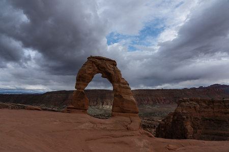 Arches National Park - Moab, Utah Stockfoto - 123908485