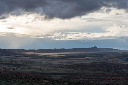 Arches National Park - Moab, Utah Stockfoto - 123908490